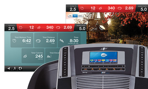 nordic track 990 with ifit live