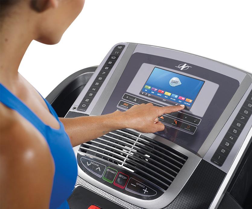 990 treadmill console