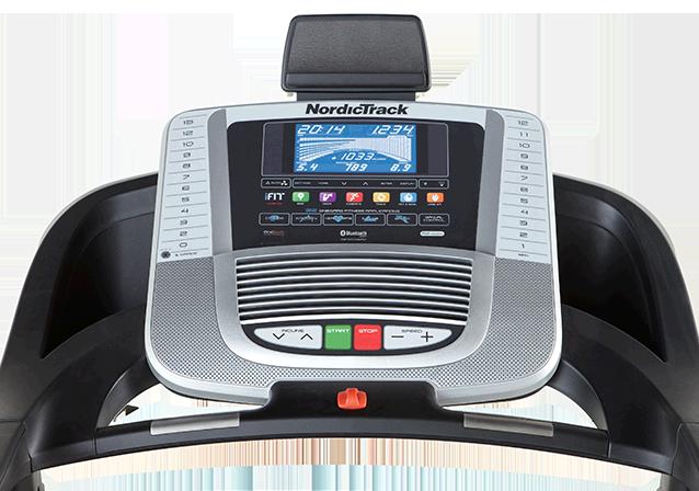 nordictrack 990 treadmill console