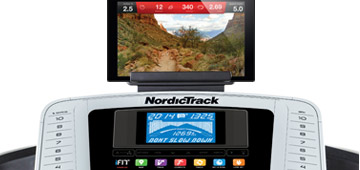 nordictrack 630 treadmill console