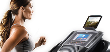 nordictrack c990 treadmill review - tablet holder