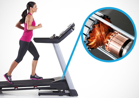 what to look for when buying a treadmill - motor