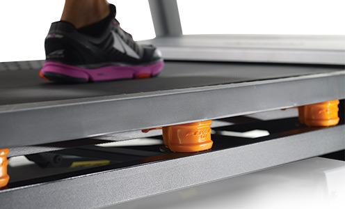 nordictrack c990 vs Proform 2000 treadmill - cushioning