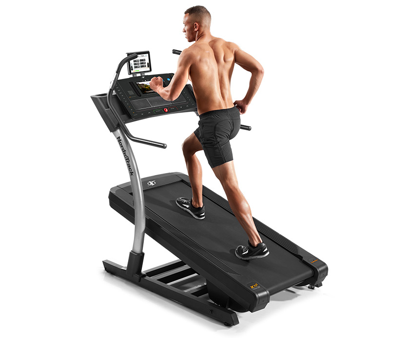 nordictrack incline trainer ceiling height