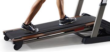 nordictrack treadmill desk platinum review - incline