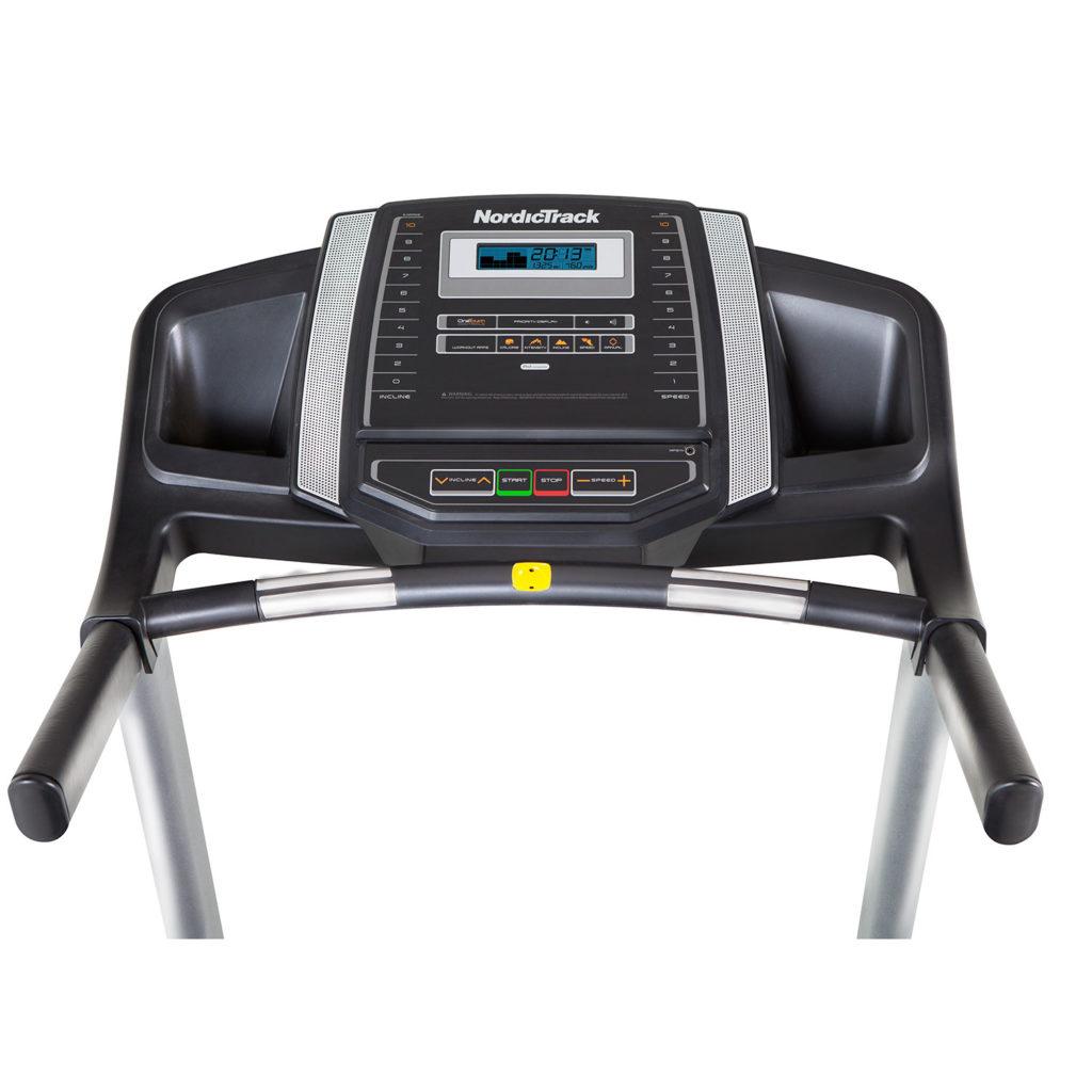 poor Nordictrack treadmill console