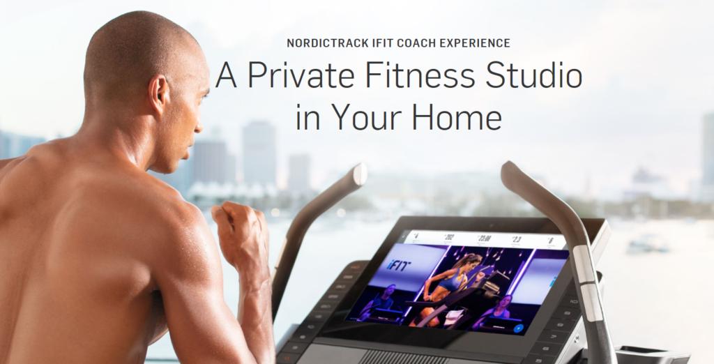 do nordictrack treadmills require ifit