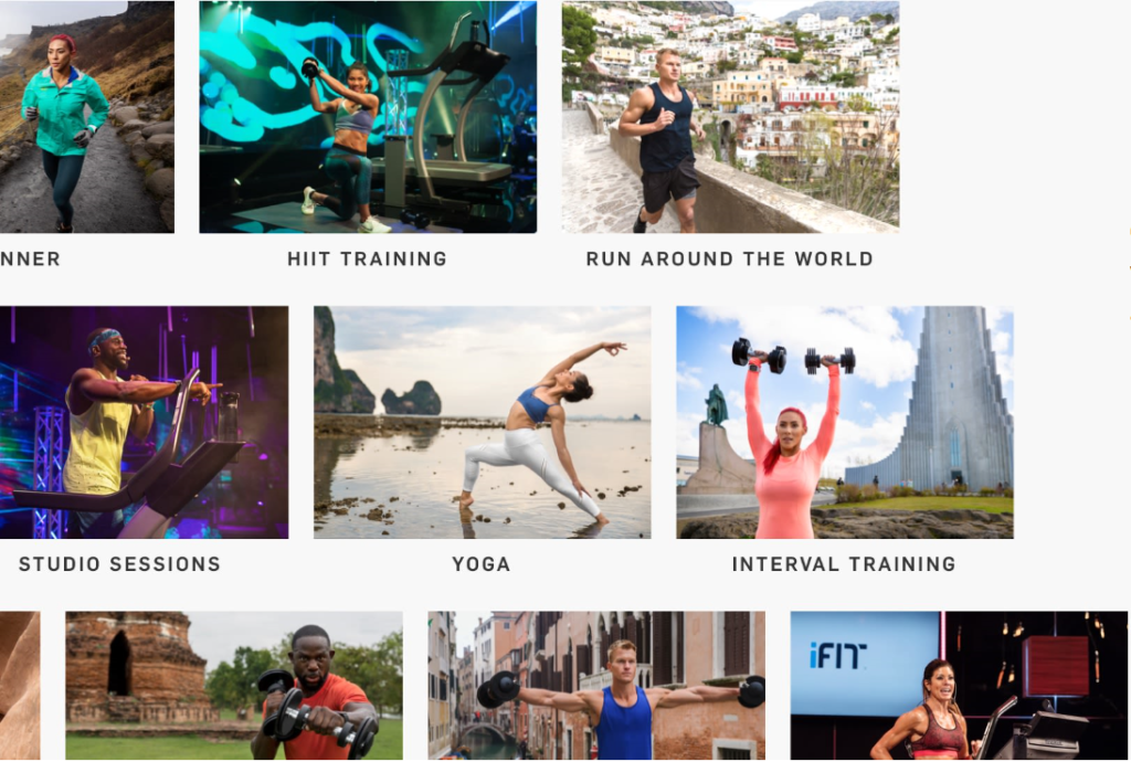 ifit coach workouts