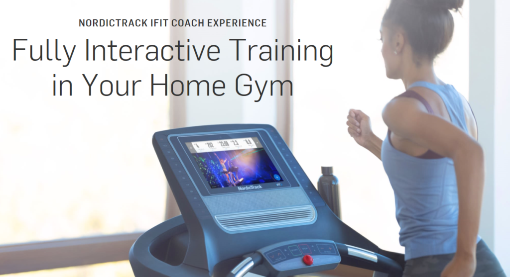 Nordictrack T-series treadmills with ifit Coach
